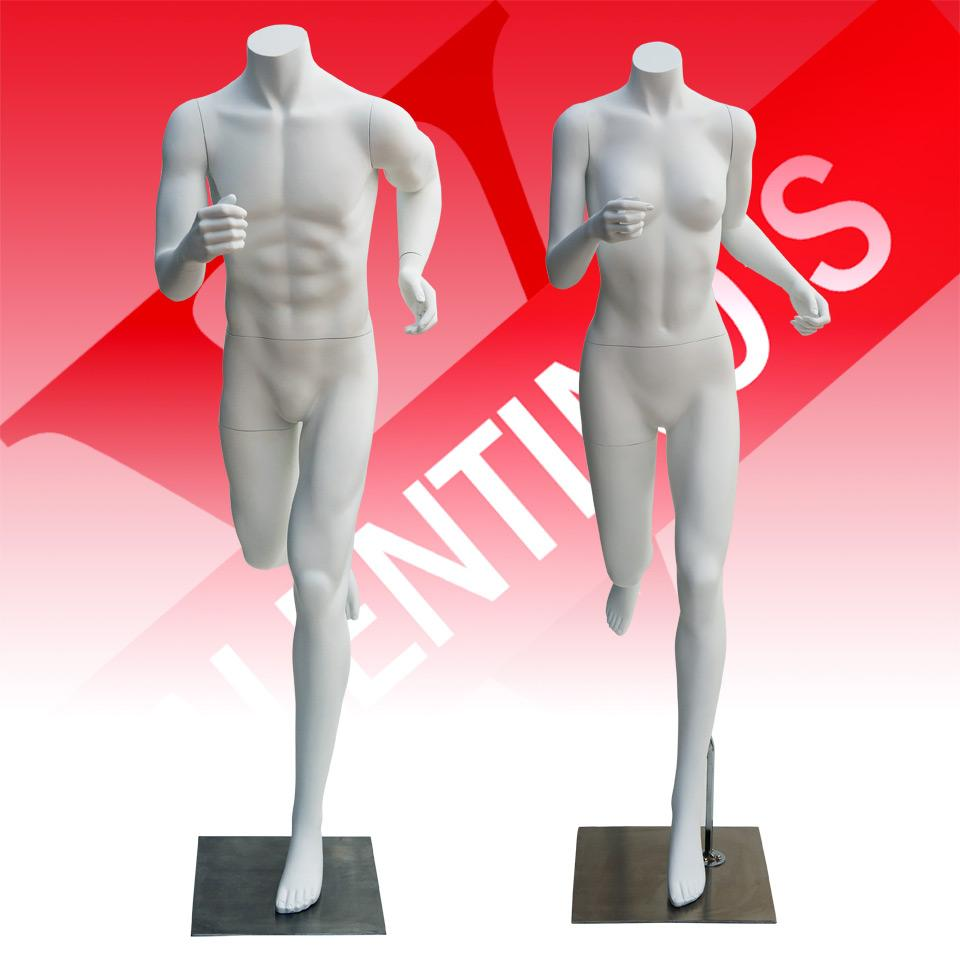 Bespoke Sports Clothes Mannequins