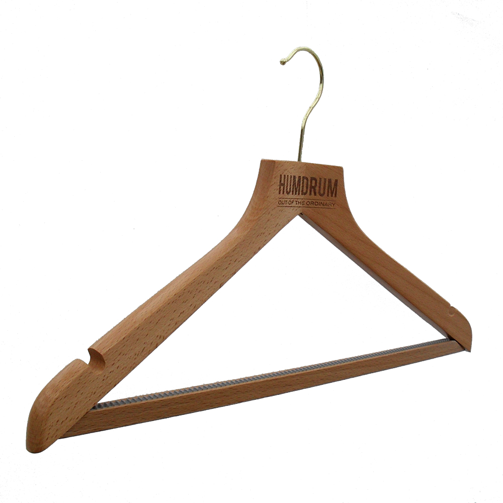 Humdrum Laser Engraved Branded Hangers