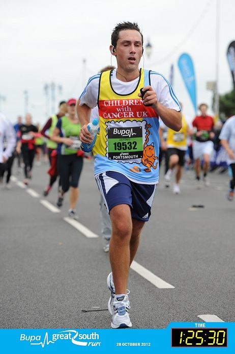 Valentinos Displays Run Great South Run 2012