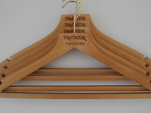 Give Up Clothes For Good Hangers for TK Maxx