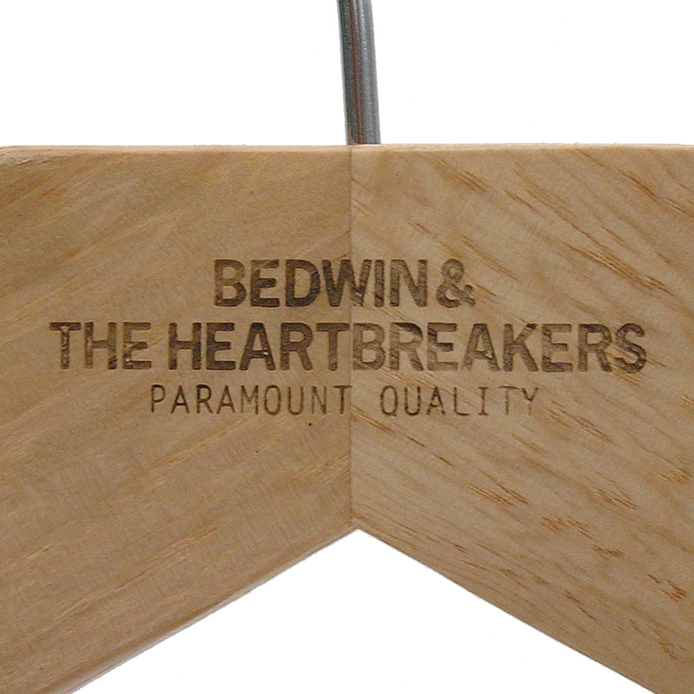 Laser Engraved Coat Hangers