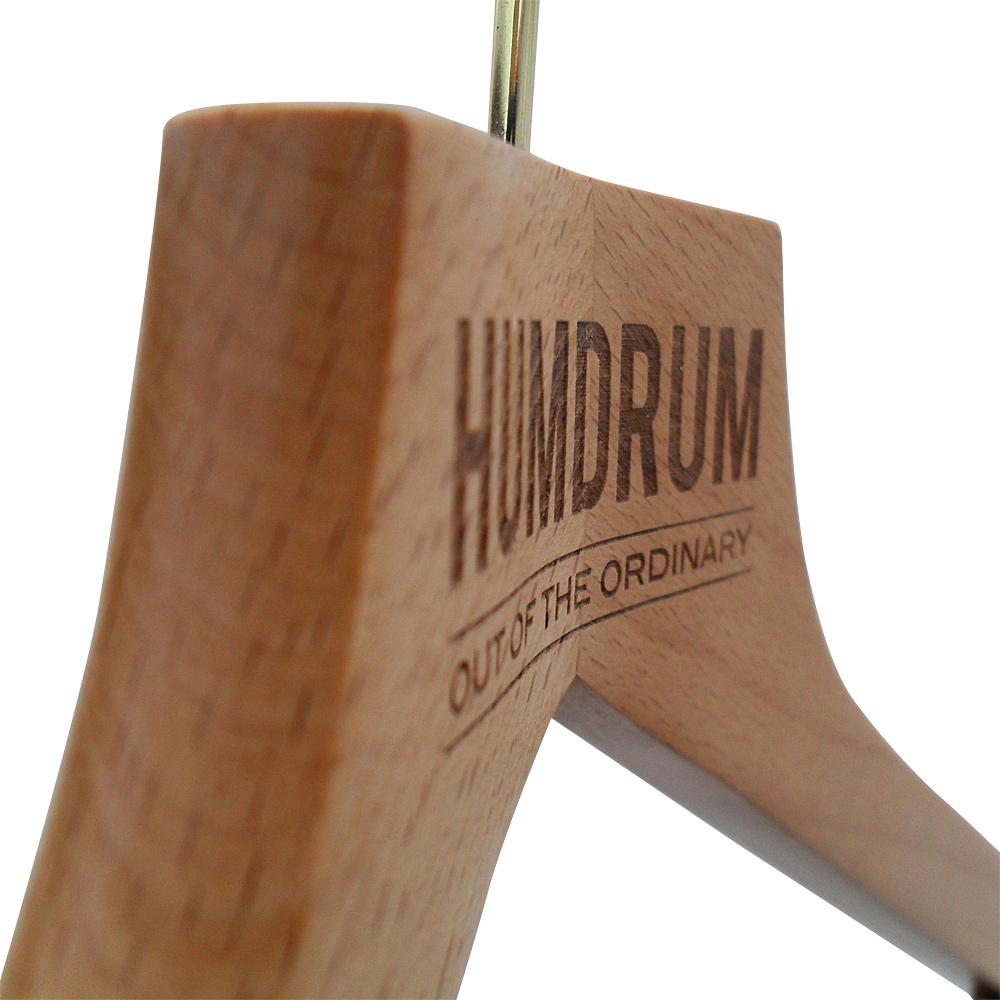 Laser Engraved Custom Hangers UK