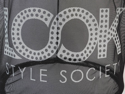 Printed Net Shopping Baskets For Look Style Society