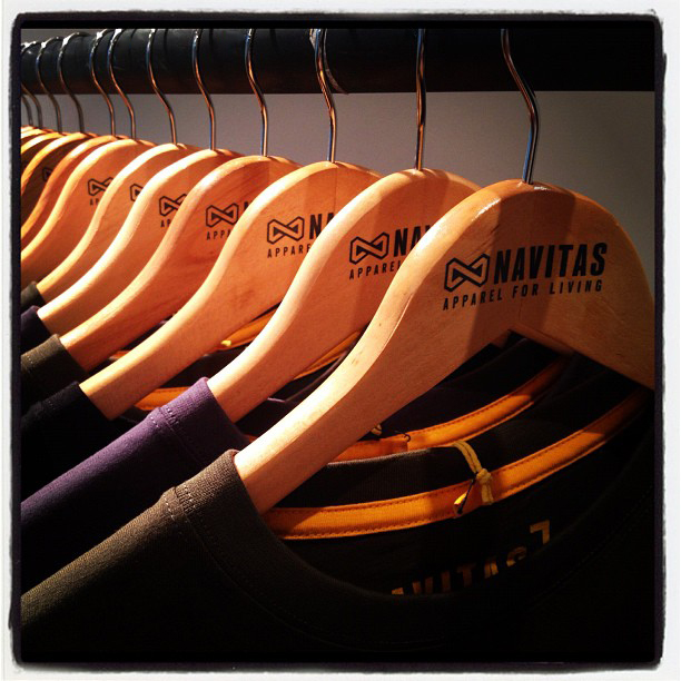 Printed Custom Coat Hangers