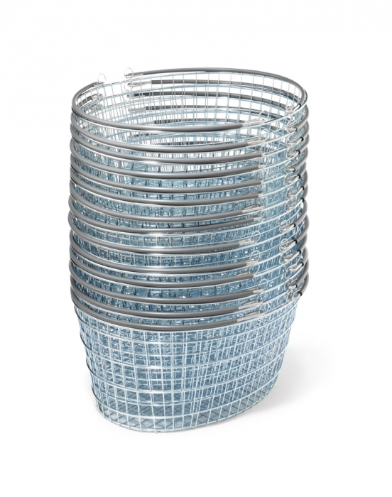 25 Litre Oval Wire Shopping Basket | Wire Baskets