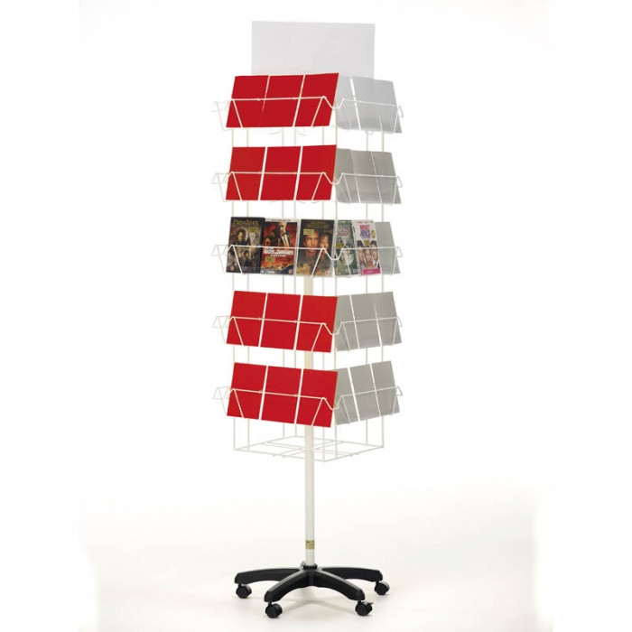 Multipurpose Greeting Card Spinner Card Display Stands