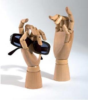 Articulated Hand Wood Hands Mannequin Hands