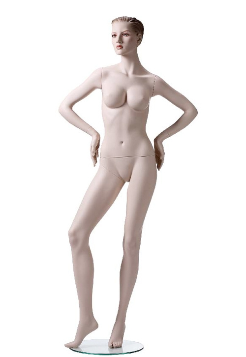 Very sexy female mannequin personally got