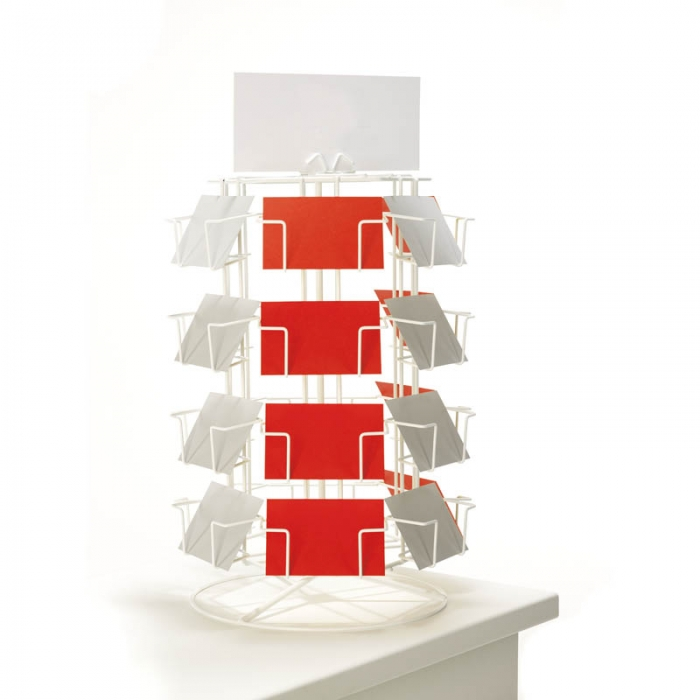 Counter Standing Postcard Displays Card Display Stands