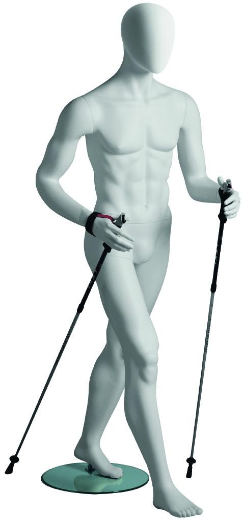Male White Walker Mannequin | Walking and Hiker Mannequins UK
