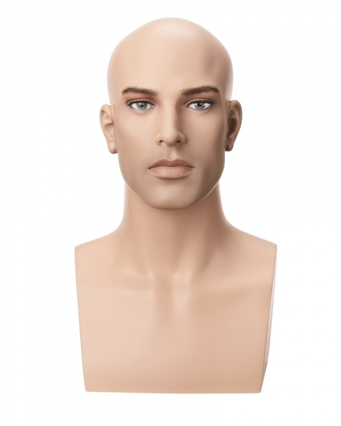 Male Mannequin Head And Shoulders Mannequin Head Stand