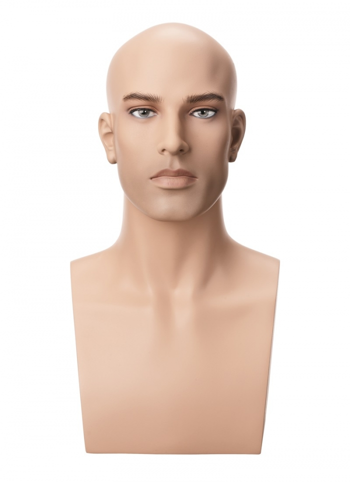 Male Mannequin Head And Shoulders Cheap Head Mannequin