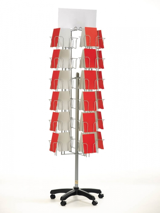 Greeting Card 40x40 Spinner 40 Pockets Card Display Stands Wire Rack Fascinating Greeting Cards Display Stands