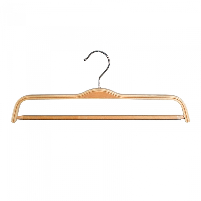 Laminated Wooden Trouser Hangers 37cm (Box of 100)