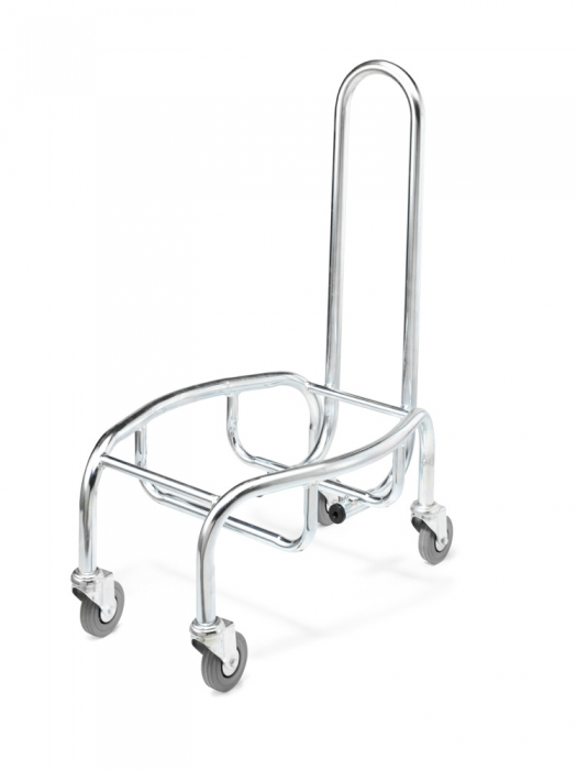 mobile shopping basket stacker