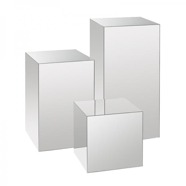 Mirrored Acrylic Plinth Cheap Display Plinths Art Plinths