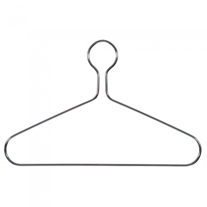 Heavy Duty Chrome Captive Clothes Hangers Big Metal Hangers