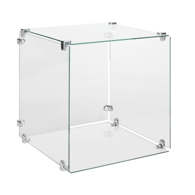 Glass Cube Large Panes (Pack Of 5)