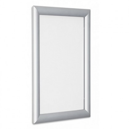 Eco Straight Silver Frame A2   Picture Frames For Posters