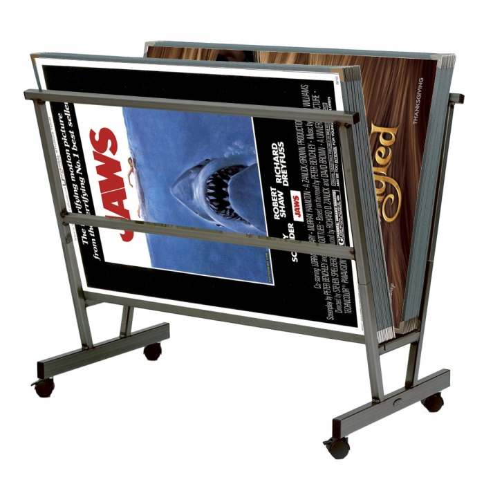 movie poster display archival display cases painting stand