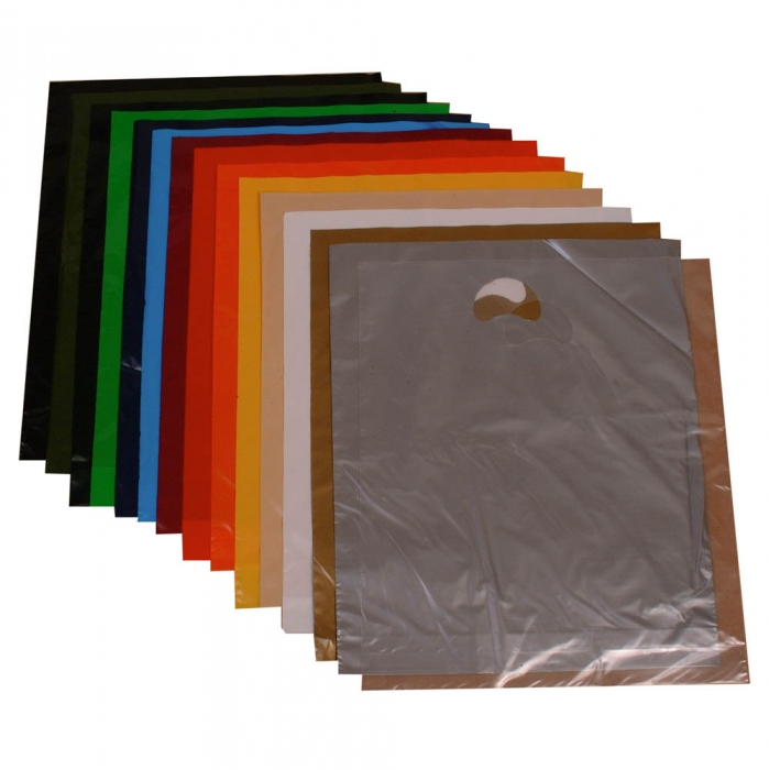 Silver Plastic Bags Personalised Carrier Bags For Sale