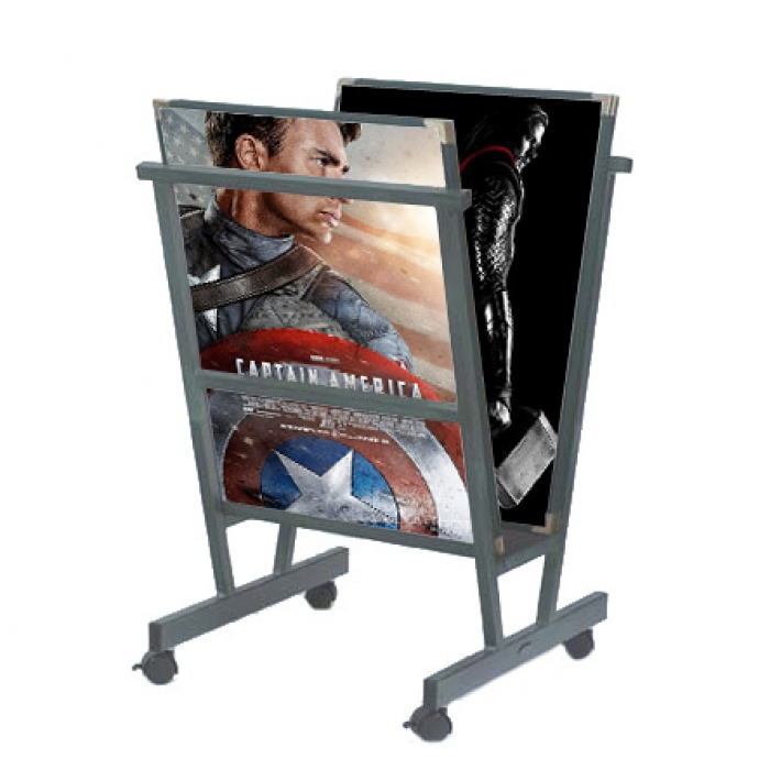 Print Display Rack Cheap Poster Stand Buy Painting Stands