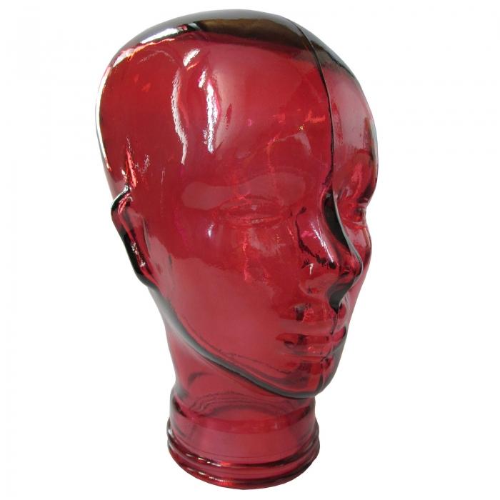 Unisex Mannequin Glass Head Glass Skull Displays