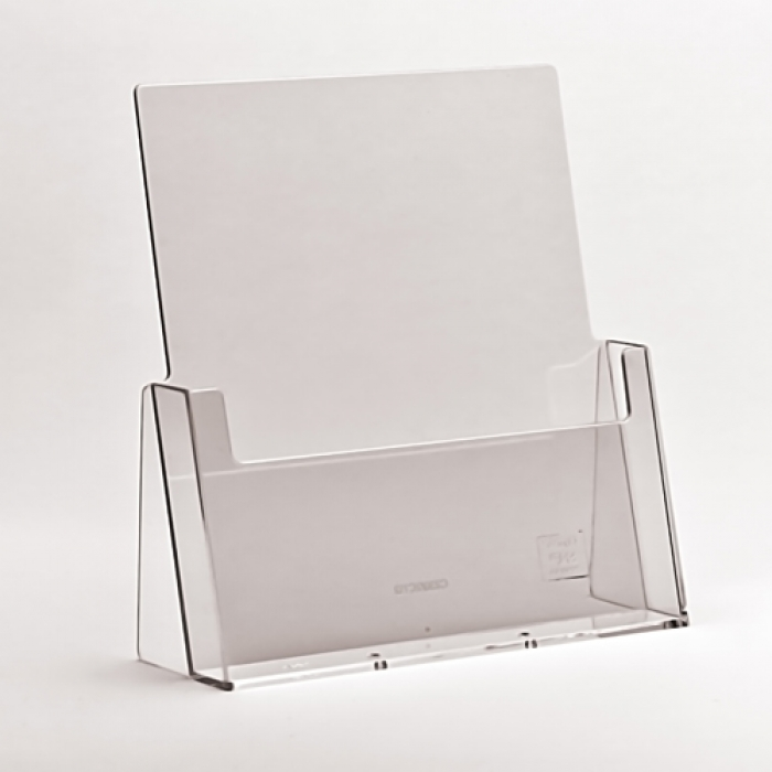 Counter Standing Acrylic Leaflet Holders A4