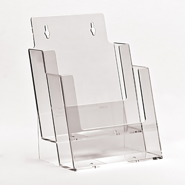 Acrylic Leaflet Holders A5 Literature Dispensers Uk