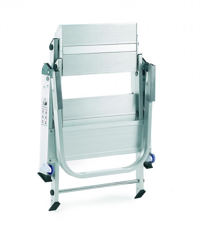 Three Folding Steps Aluminium Ladder Valentinosdisplays Com